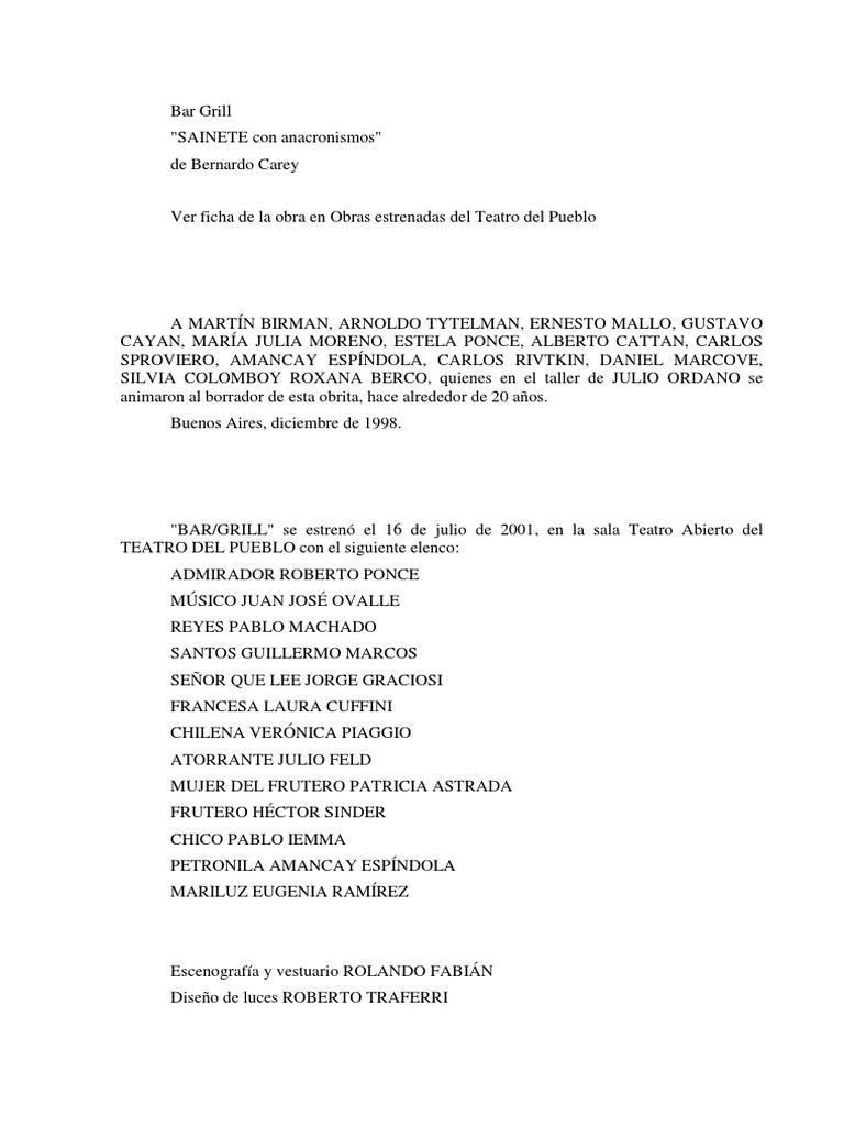 Alexa Fede Y La Cornuda Maria Se Masca La Tragedia textos de autores argentinos contemporáneos. teatro del