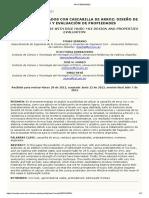 Mortero Aligerados Con Cascarilla de Arroz-diseño de Mezclas y Evaluacion de Propiedades