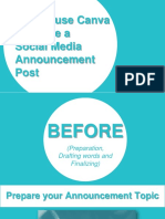 How to Use Canva to Create a Social Media Announcement Post-Charissa Yet-Workwithme