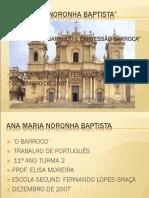 Trabalho de Portugues Barroco