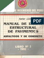 Manual de Diseño Estructural de Pavimentos