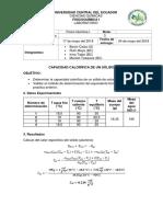 FQI. LAB. 3 Calor Del Aluminio