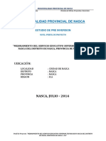 Perfil Cobertura Autoportante is. TECNOLOGICO NASCA