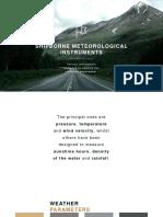 Shipborne Meteorological Instruments