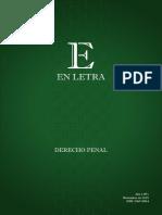 En Letra Derecho Penal Numero 1 2015
