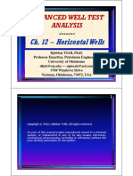 Chapter 12 (WTA) - Horizontal Well Test Analysis (D. Tiab)