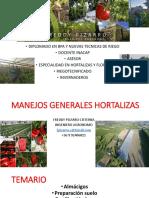 MANEJOS GENERALES HORTALIZAS