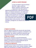 Como Conquistar Al Cliente Peruano (1) Marketing