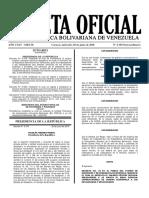 Gaceta Oficial Tabulador Salario Empleados Publicos
