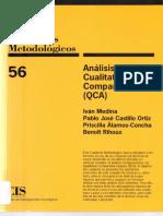 Análisis Cualitativo Comparado QCA