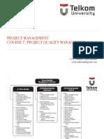 Kuliah 7 Project Quality Management
