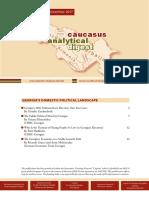 Caucasus Analytical Digest 100
