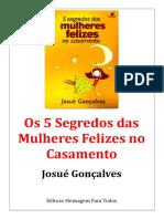 5 Segredos das Mulheres Felizes no Casamento.doc