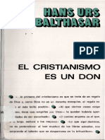 Hans Urs von Balthasar - El cristianismo es un don.pdf