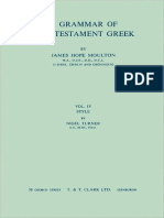 Moulton, James Hope - A Grammar of New Testament Greek (Volume 1)