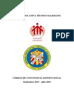 Codigo Convivencia Tecnico Salesiano 2014