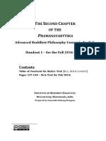 Second Chapter of Pramanavarttika by Dharmakirti