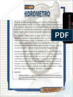 6.- HIDROMETRO