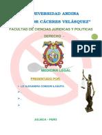 Universidad Andina Esterilidad