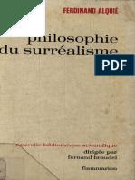 Ferdinand Alquie - Philosophie du surrealisme.pdf