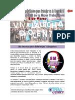 8m-Propuesta Para Trabajar en Las Escuelas CTERA-08!03!2018