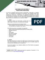 Guía del buen uso de los foros - Pasos para participar.pdf