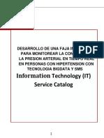 Catalago ITIL