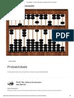 Probabilidade - Portal de Educação Do Instituto NET Claro Embratel
