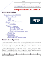 El PIC16F84A Caracteristicas Bueno