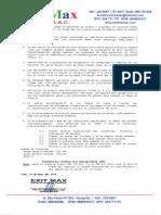 Protocolo y Certificado de Operatividad de Recarga y Mantto. Extintor Portatil.serie E73254533