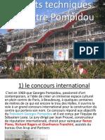 Aspects Techniques Du Centre Pompidou - Par Geraud 3F-2