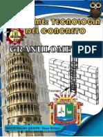 Informe de Granulometria - Tecnologia Del Concreto | Modulo de Fineza