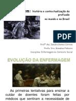 Enfermagem e a Contextualização Histórica