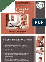 Exame Físico Em Pediatria