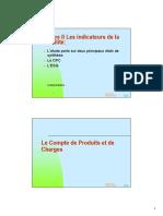 Chapitre II Les Indicateurs de La Rentabilité Et Chapitre III Les Ratios Supet (1)