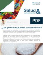 Las Golosinas Pueden Causar Cancer