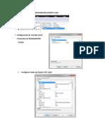 Tutorial Creación Usuario SA - SQL SERVER 2014