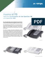 Datenblatt Aastra6775 Ds de 2011-09