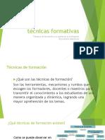 Evidencia Implementacion de Tecnicas Formativas