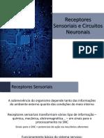 Fisiologia - 04 - Receptores Sensoriais e Circuitos