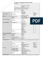 Especificaciones Tecnicas de Computadora Personal de Escritorio y Impresora