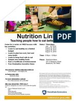 Nutrition Links Flyer - Bellefonte Mews 2018 (1)