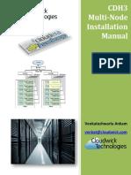 CDH3 Hadoop Cluster Installation Using CentOS