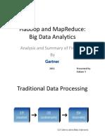 Gartner Hadoop and MapReduce Analysis