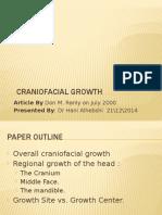 Hani2 Craniofacial Growth