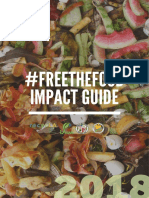 #FreetheFood Food Waste Challenge Impact Report, Spring 2018