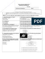 Evaluacion Tercero Ciencias Unidad 2