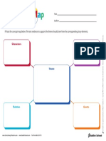 Theme Concept Map Organizer