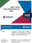 DECLARACIONES Y PAGO SUNAT OPERACIONES EN LÍNEA