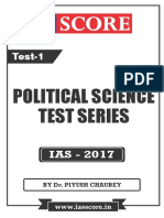 Political Science Test-01